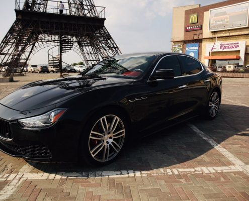 Maserati ghibli на свадьбу