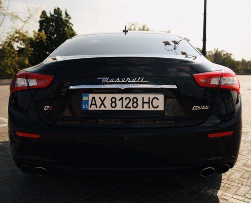 Maserati ghibli аренда