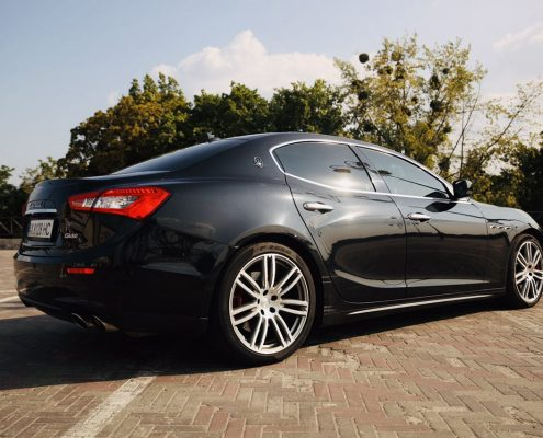 Maserati ghibli свадьба