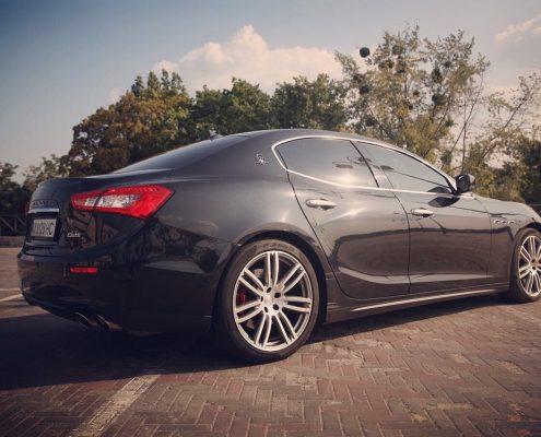 Maserati ghibli фотосессия
